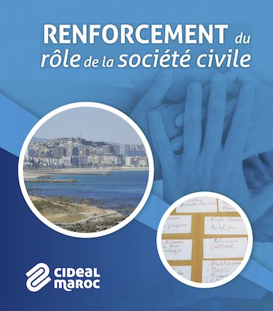 Renforcement du rôle de la société civile