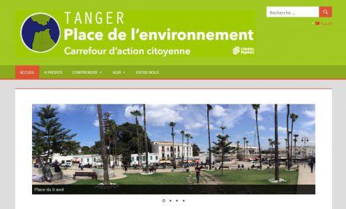 Site web TangerEnvironnement.org