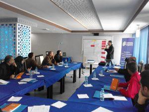 Nous finalisons à Al Hoceima le cycle de formation sur la protection de l'environnement adressé aux OSC de quartier du Nord du Maroc