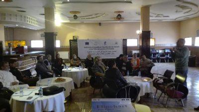 Nous organisons à Ketama une formation adressée aux associations gestionnaires des Dar Talib-a au Cercle de Ketama