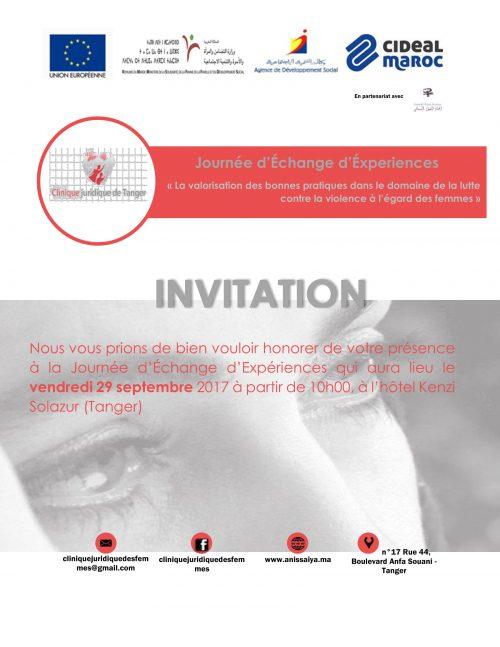 La Fondation CIDEAL Maroc organise une Journée d'Échange d'Éxperiences