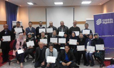 La Fondation Cideal Maroc réalise la formation des Formateurs Environnementaux